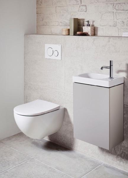 Vegghengt toalett