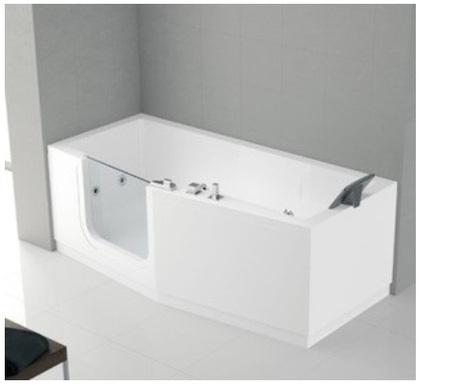 Rektangulært badekar